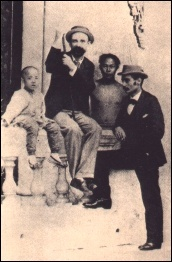 Pessanha e Wenceslau em HK c.1895