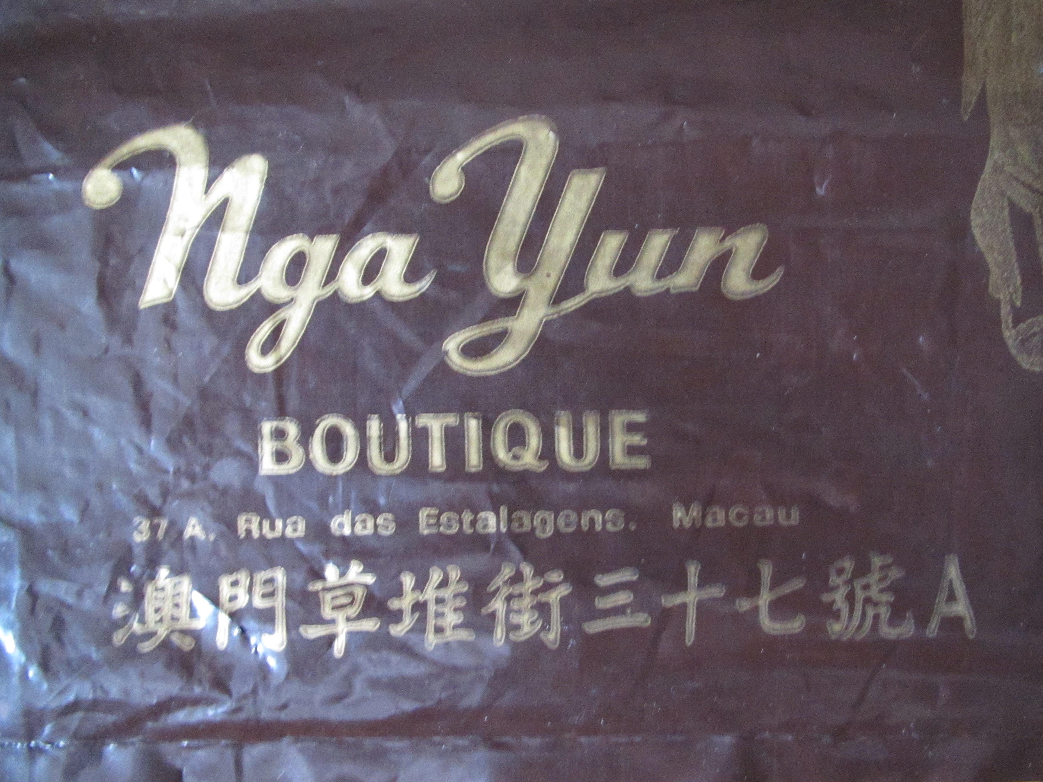 Saco de Compras Boutique Nga Yun II