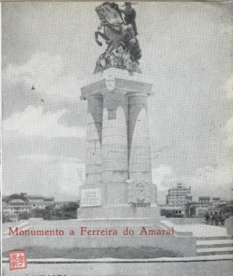 Roteiro do Ultramar Estátua Ferreira do Amaral