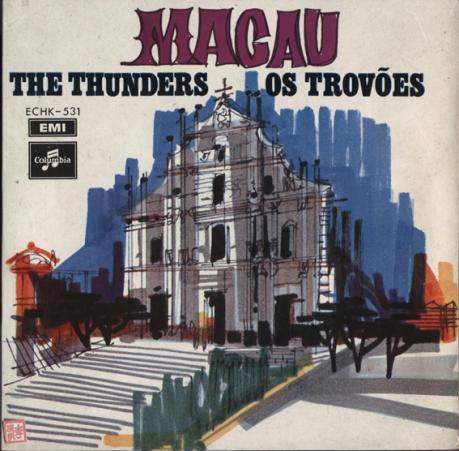 The Thunders MACAU capa