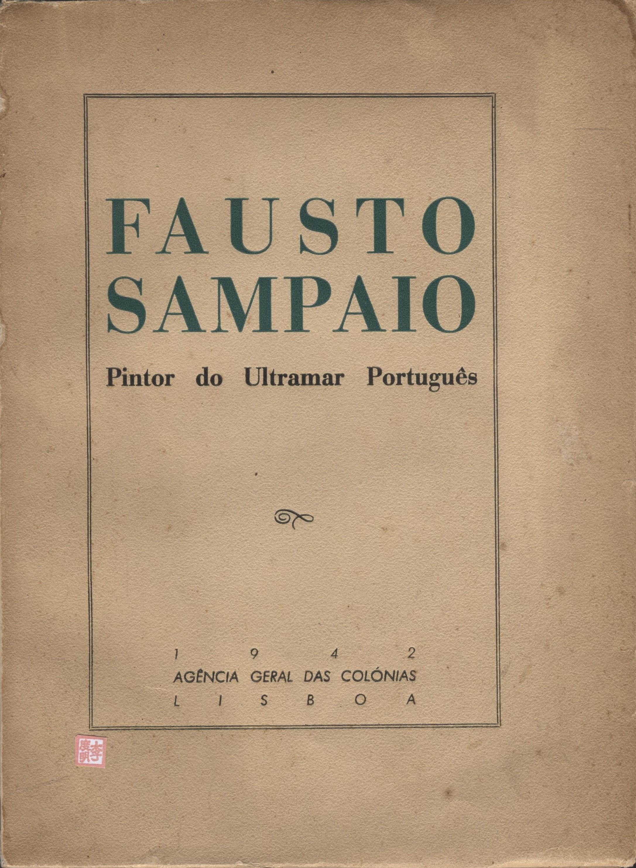 Fausto Sampaio Pintor do Ultramar CAPA