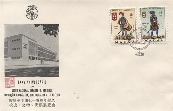 FILATELIA -LXXV Aniversário LNIDH 1969