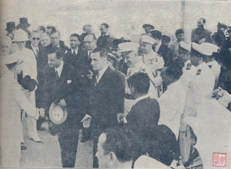 ANUÁRIO 1940-41 - 29-10-1940 Chegada de Gabriel Teixeira I