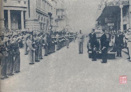 ANUÁRIO 1940-41 - 29-10-1940 Chegada de Gabriel Teixeira II