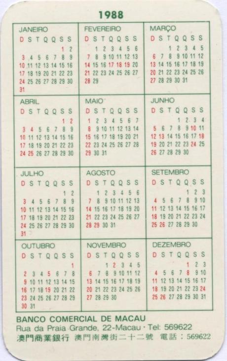 BCM 1988 verso