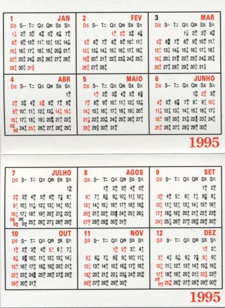 CM ILHAS 1995 verso