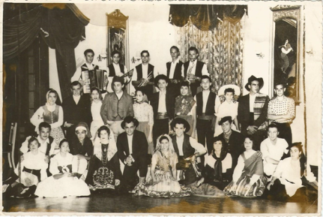 Rancho Folclórico Clube Militar 1954