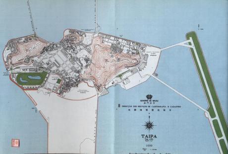 Roteiro das Ilhas -Ilda da Taipa Mapa da Taipa