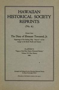 The Diary of Ebenezer Townsend