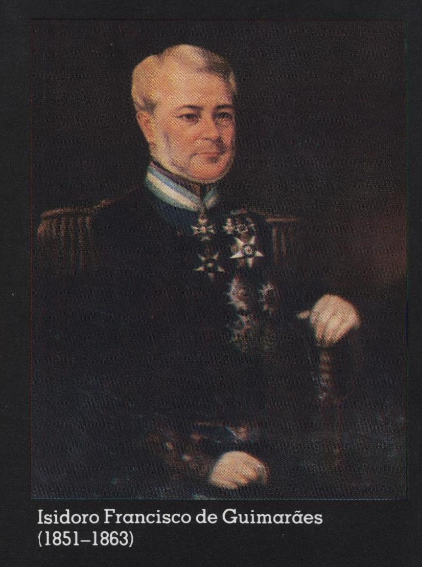 Isidoro Guimarães1851-1863
