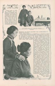 Curandeiras Chinesas Iluistração Portugueza 1911 - I
