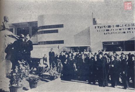 Inauguração busto Tamagnini Barbosa I