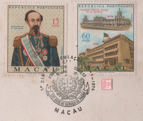 1.º Centenário Inauguração do Hospital SELOS e CARIMBO