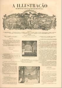 A Ilustração Luso Brasileira 1856 n.º 12 CAPA