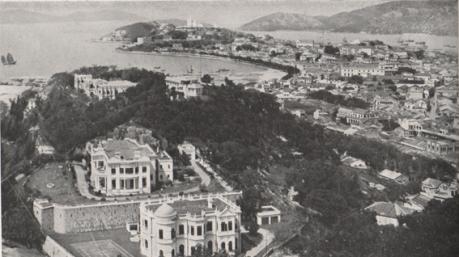 A VOLTA AO MUNDO - Vista parcial de Macau