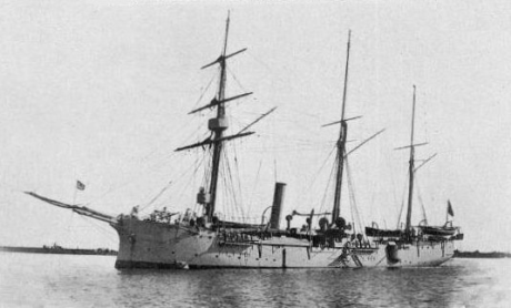 Canhoneira DIU 1889-1913
