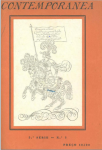 Conteporrânea n.º3 1925 CAPA