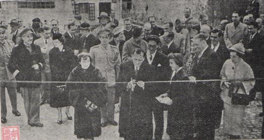 Macau B.O. I- 1954, n.º 12 Inauguração corte fita