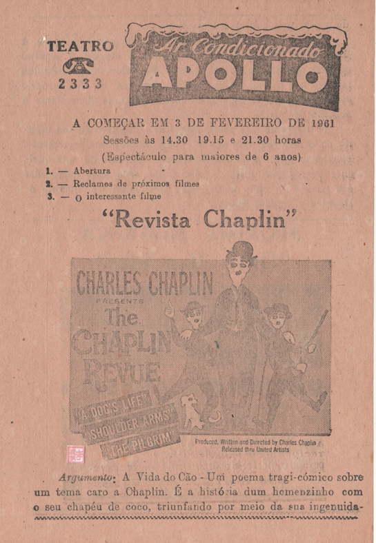 3FEV1961 Chaplin Revue