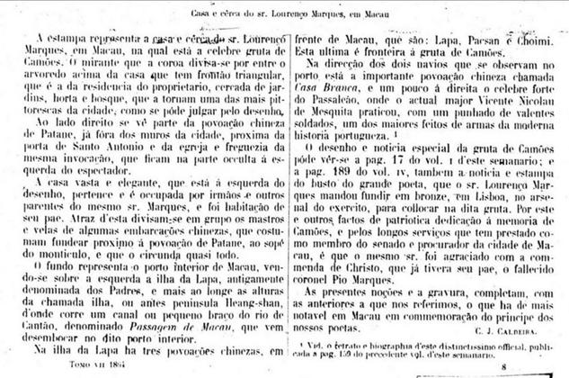 Archivo Pittoresco 1864 - A casa de Lourenço Marques II