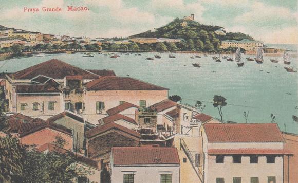 Bilhetes Postais Antigos Paraya Grande Macao c 1890