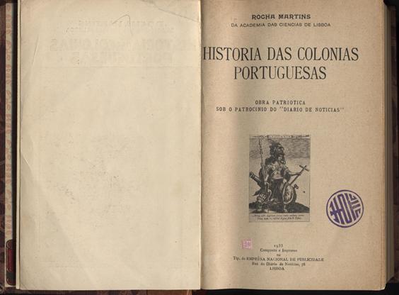 História das Colónias Portuguesas  1.ª Página