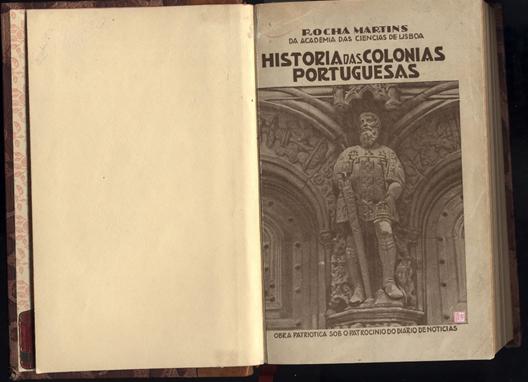 História das Colónias Portuguesas  CAPA