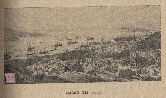 História das Colónias Portuguesas  MACAU 1897