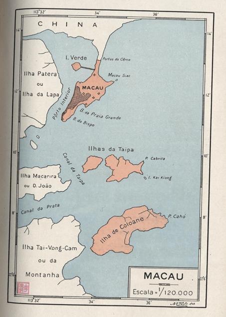 História das Colónias Portuguesas  MAPA 1933