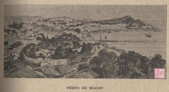 História das Colónias Portuguesas  Porto de Macau