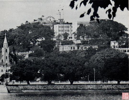 Postal c. 1965 Fortaleza da Guia