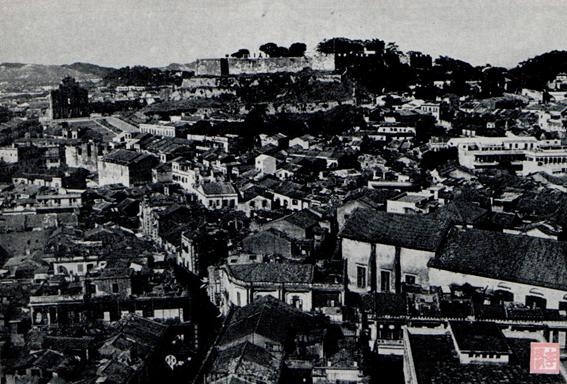 Postal c. 1965 Fortaleza do Monte