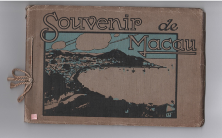Souvenir de Macau 1910 CAPA