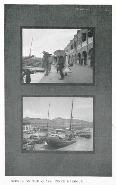 Souvenir de Macau 1910 Scenes of Inner Harbour