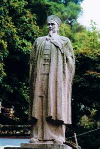 Estátua Lin Zexu -Templo Lin Fong