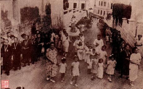 MOSAICO IV 21-22 1952 Procissão N. Sra. Auxiliadora II