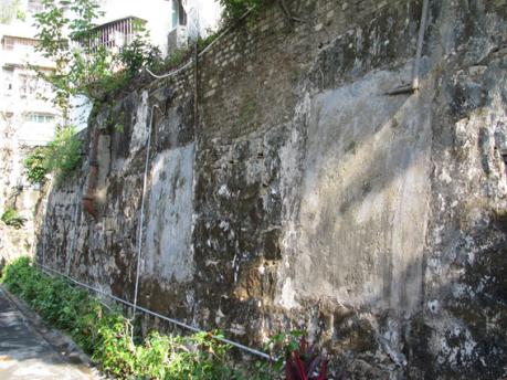 Muralha Cidade Cemitério 2015