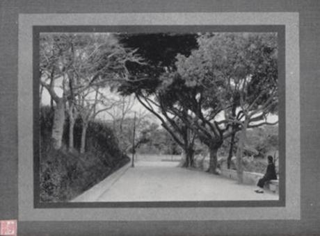 Souvenir de Macau 1910 Estrada do Hospital Militar