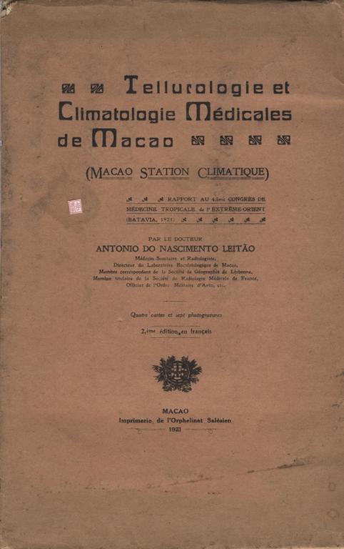 Tellurologie e Climatologie CAPA