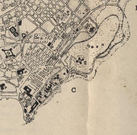 Ampliação Mapa 1921 -Tellurologie et Climatologie