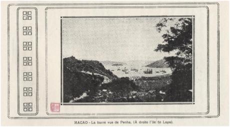 MACAO Barra vue de Penha - Lapa
