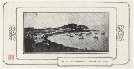 MACAO Praya Grande - Colline de Guia - Rade