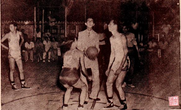 MOSAICO IV 21-22 1952 Jogo Basquetebol II