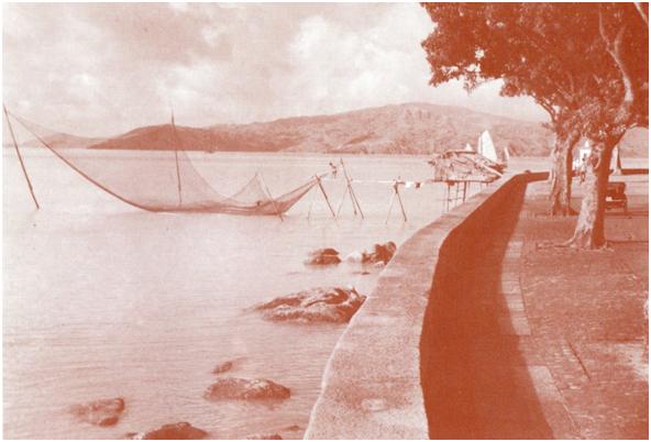 POSTAL Lei Iok Tin 1958 Barraca de pesca