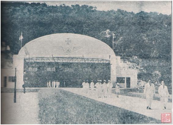 Inauguração Hangar Porto Exterior II 1940