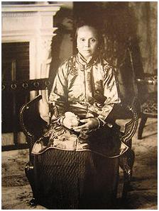 LU Muzhen mulher de Sun Yat Sen