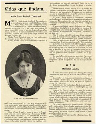 M. Anna Accioli Tamagnini II Portugal Colonial, n. 41-1934