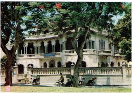POSTAL - Casa Memorial Sun Yat Sen década de 60