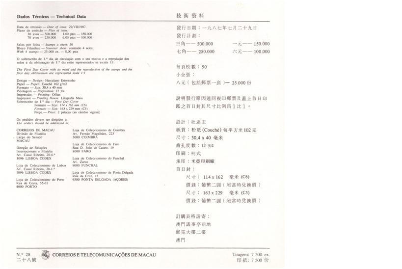 SELOS Dados Técnicos LEQUES DA REGIÃO 29.7.87