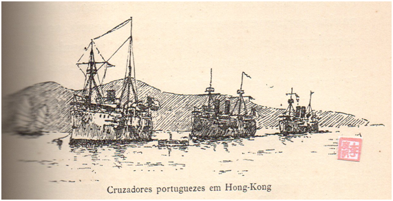 Cruzador S. Gabriel Viagem de Circumnavegação CRUZADORES HK